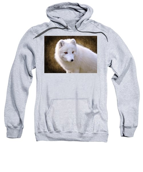 White Arctic Fox Sweatshirt
