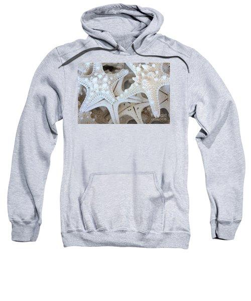 White Starfish Sweatshirt