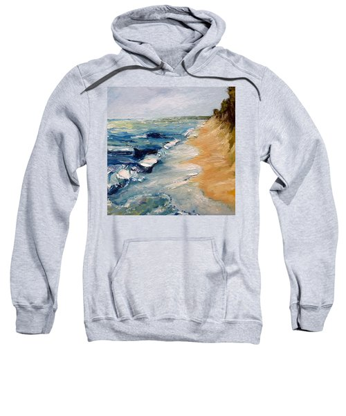 Whitecaps On Lake Michigan 3.0 Sweatshirt