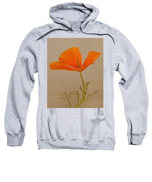 Wild California Poppy No 1 Sweatshirt