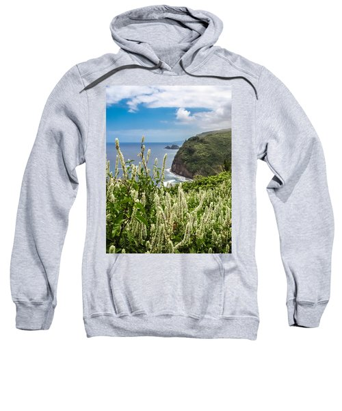 Wild Flowers At Pololu Sweatshirt