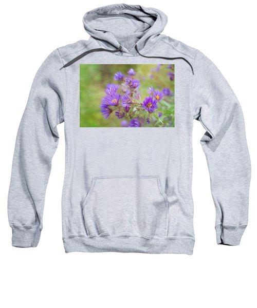 Wild Flowers In The Fall Sweatshirt