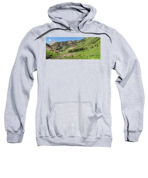 Wilderness Area And Snake River Sweatshirt