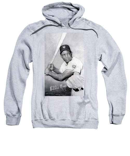 Willie Mays  Poster Sweatshirt