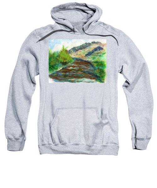 Willow Creek In Spring Sweatshirt