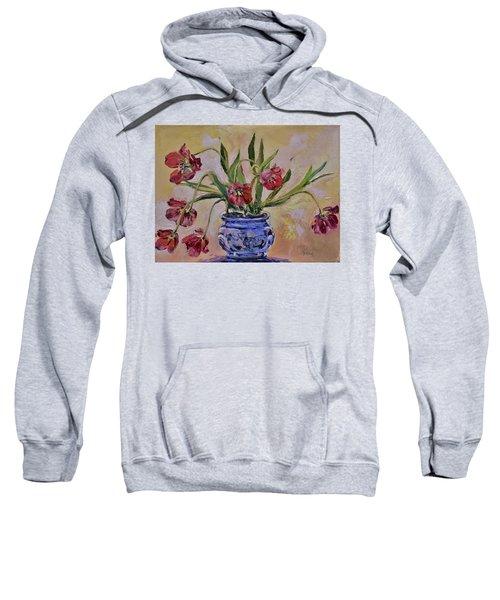 Wilting Tulips Sweatshirt