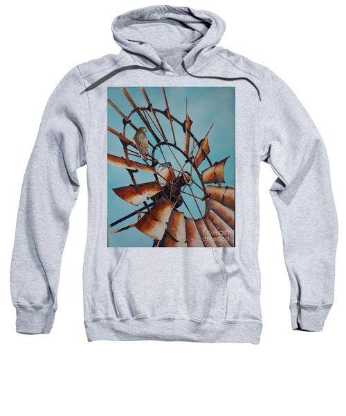 Windmill And Hawk Sweatshirt