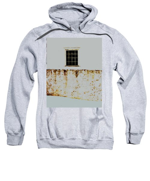 Window Wall And Snow Sweatshirt