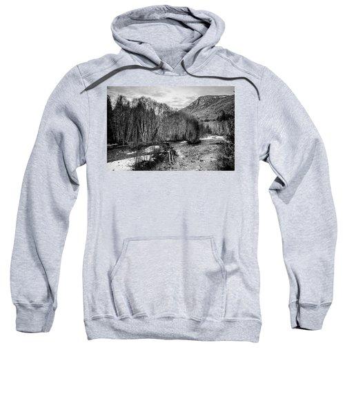 Winter Backroads Englishman River Sweatshirt