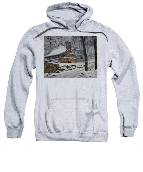 Winter - Cabin - In The Woods Sweatshirt