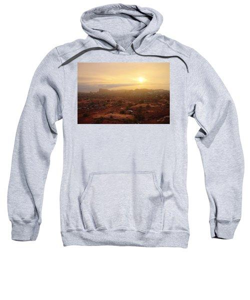 Winter Desert Glow Sweatshirt