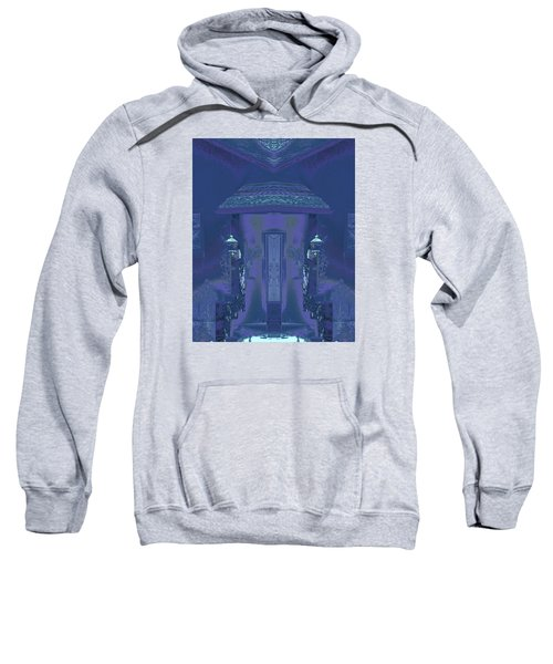 Sweatshirt featuring the photograph Winter Dusk Homecoming by Don and Judi Hall