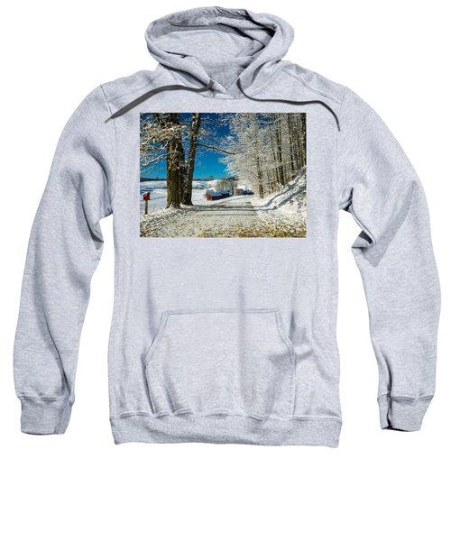 Winter In Vermont Sweatshirt