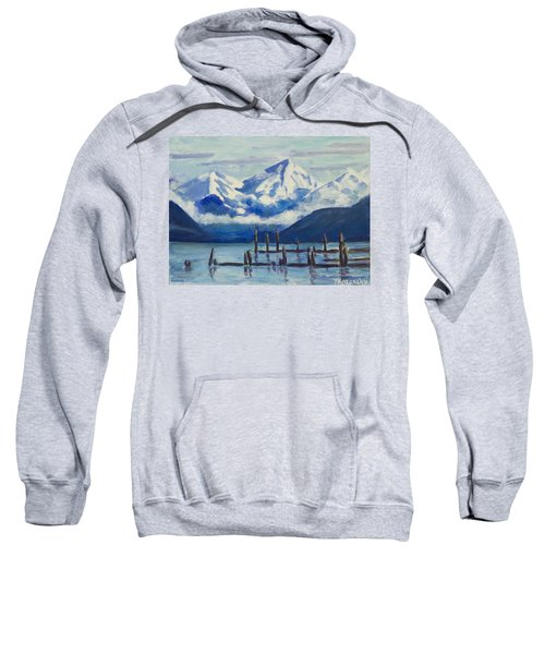 Winter Mountains Alaska Sweatshirt