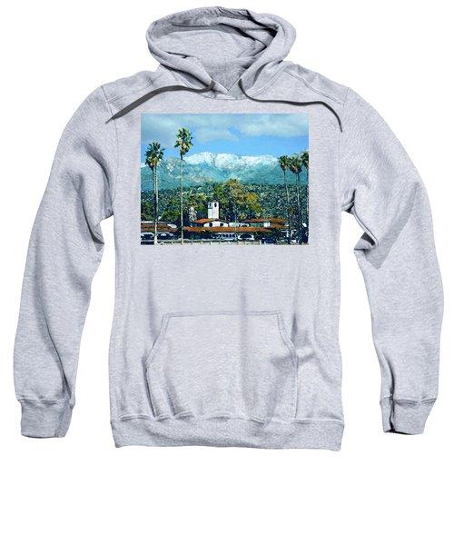 Winter Paradise Santa Barbara Sweatshirt