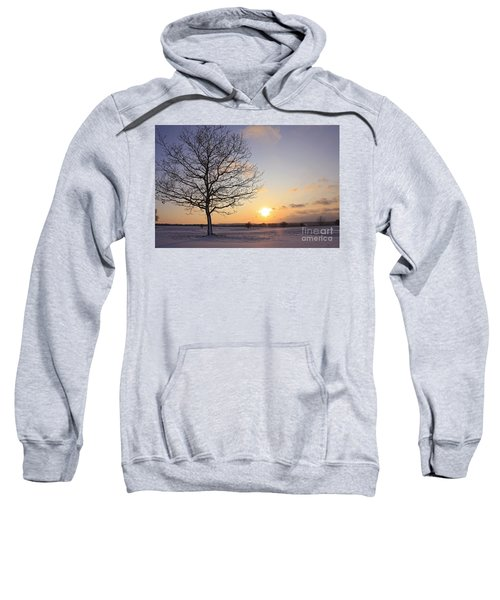 Winter Sunset Uk Sweatshirt