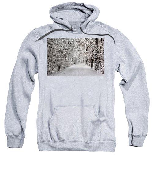 Winter Walk In Fairytale  Sweatshirt