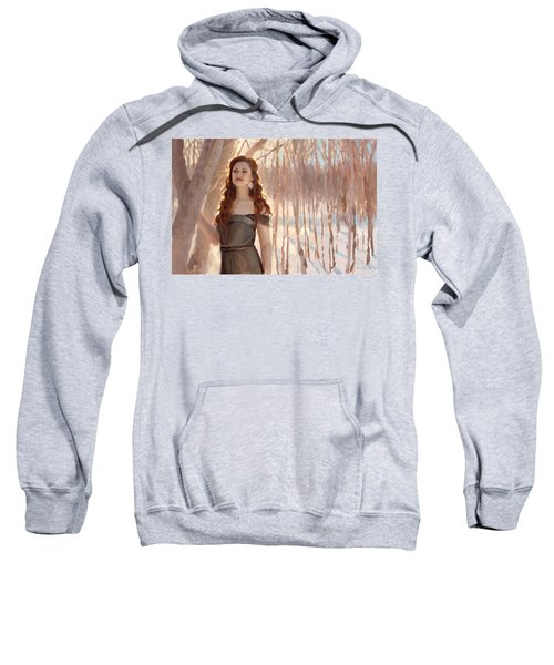 Winter Warmth - Figure In The Landscape Sweatshirt
