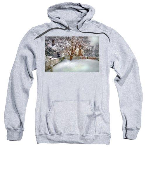 Wintry Garden Sweatshirt