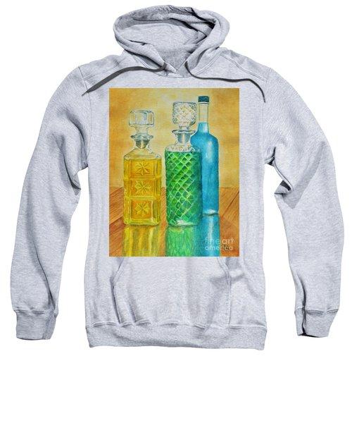 Whiskey Bottles Sweatshirt