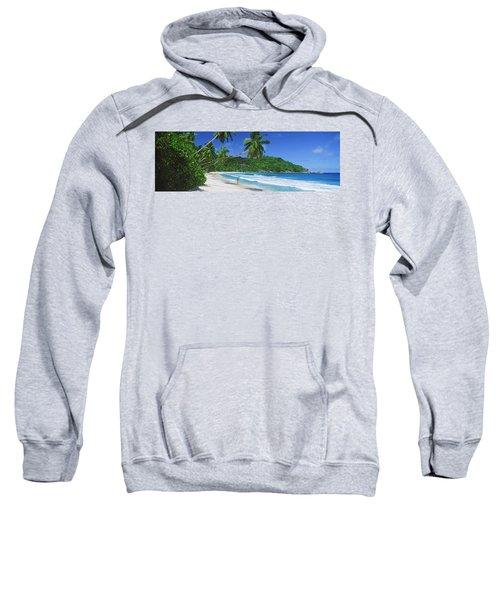 Woman Walking On The Beach, Anse Sweatshirt