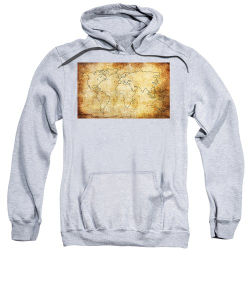 World Map Sweatshirt