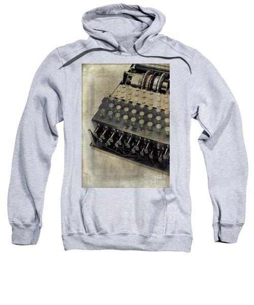 World War II Enigma Secret Code Machine Sweatshirt