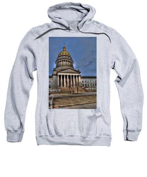 Wv Capital Building 2 Sweatshirt by Jonny D