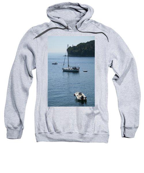 Yachts At Anchor Sweatshirt