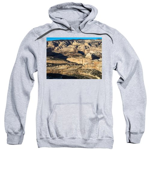 Yampa River Canyon In Dinosaur National Monument Sweatshirt