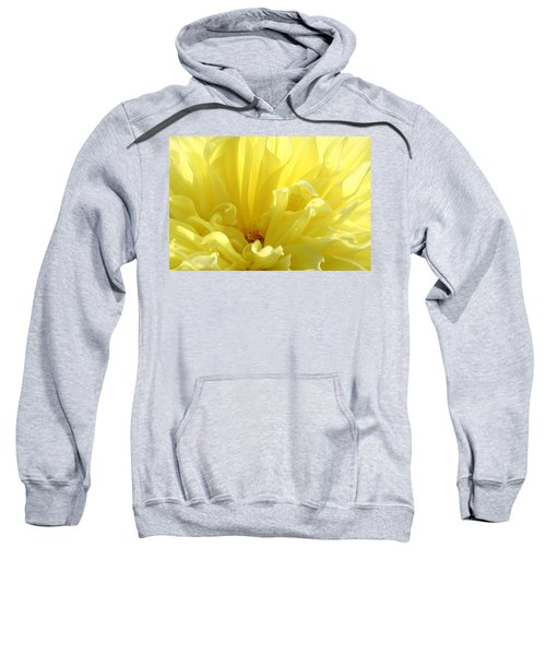 Yellow Dahlia Burst Sweatshirt