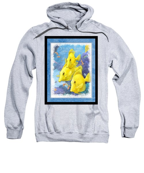 Yellow Tang Sweatshirt