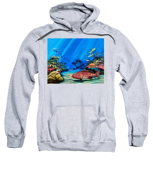 Yellowfin Grouper Wreck Sweatshirt