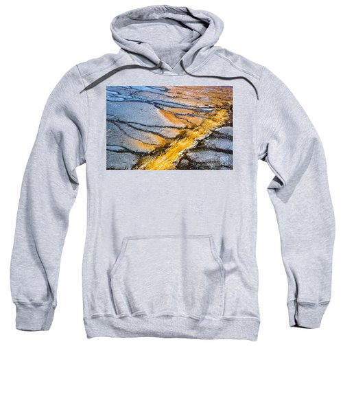 Yellowstone Nature Abstract Sweatshirt