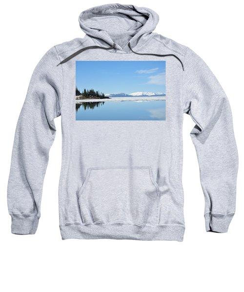 Yellowstone Lake In The Spring Sweatshirt
