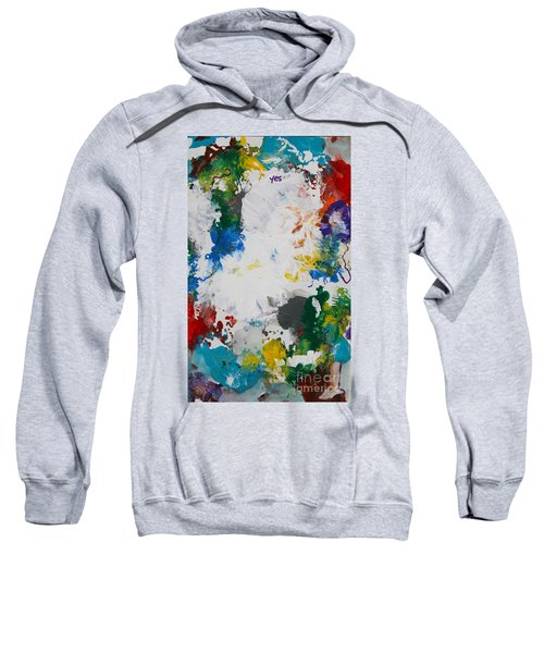 Yes Abstract Sweatshirt