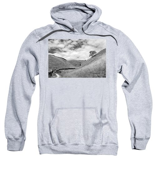Lone Tree In The Yorkshire Dales Sweatshirt