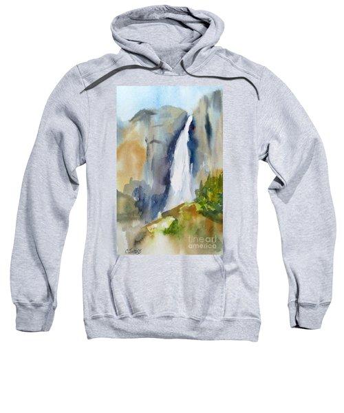 Yosemite Falls Springtime Sweatshirt