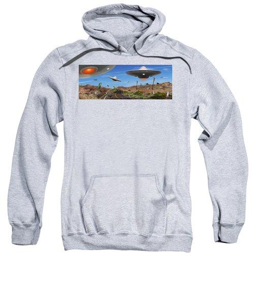 You Never Know . . . Panoramic Sweatshirt