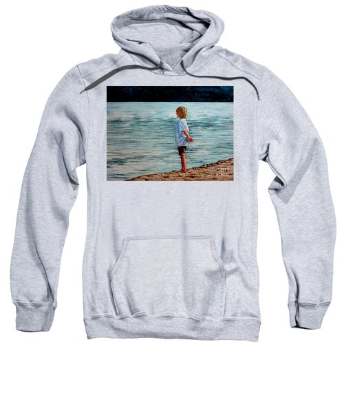 Young Lad By The Shore Sweatshirt
