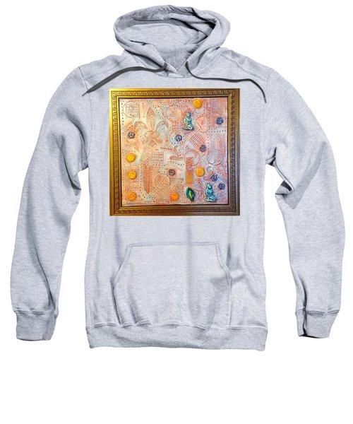 Your Decepting Confusing Lies By Alfredo Garcia Art Sweatshirt