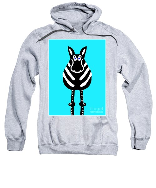 Zebra - The Front View Sweatshirt