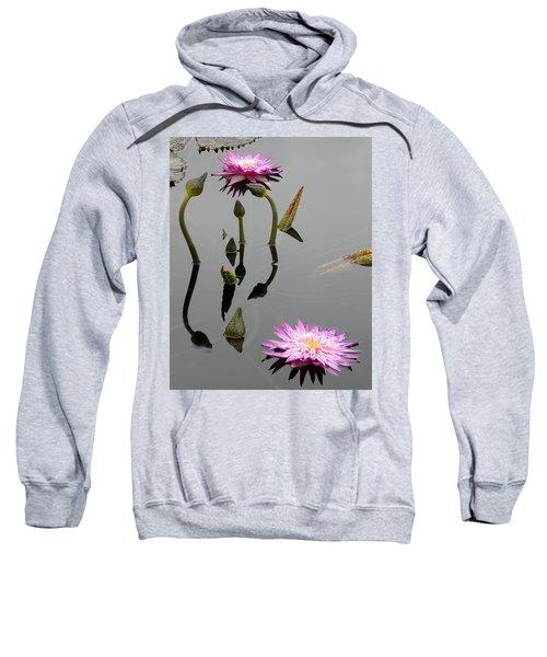 Zen Lilies Sweatshirt