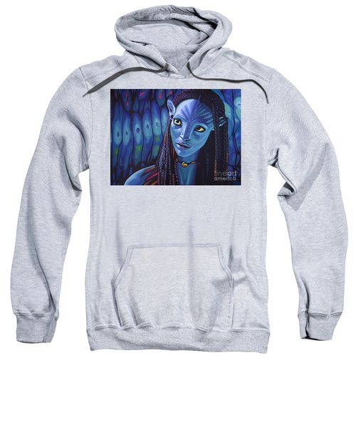 Zoe Saldana As Neytiri In Avatar Sweatshirt