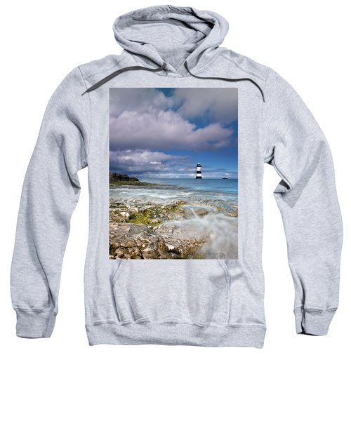 Fishing By The Lighthouse Sweatshirt
