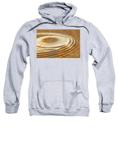Printed Circuit Sweatshirt