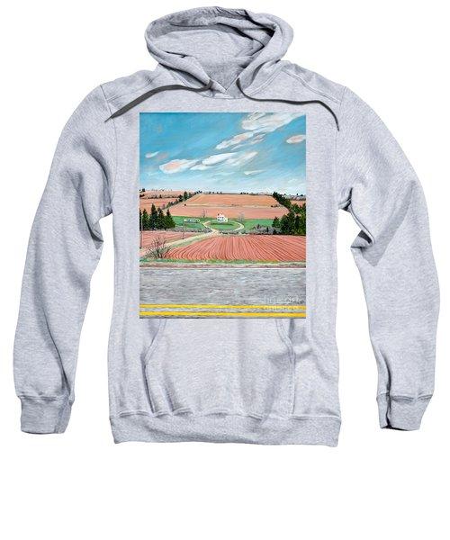 Red Soil On Prince Edward Island Sweatshirt