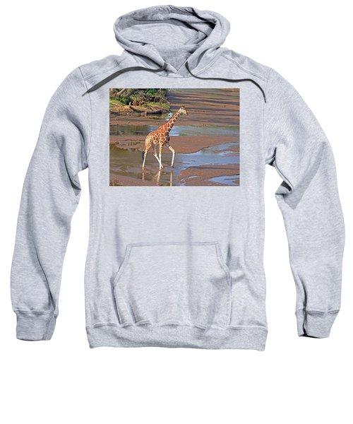 Reticulated Giraffe Sweatshirt