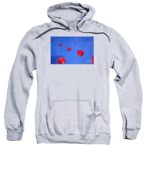 Orbs In Space 1 -- Crossing Paths Sweatshirt