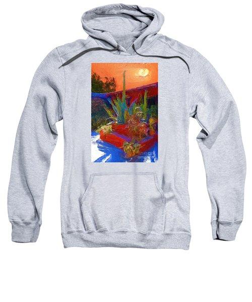 A Garden In Pozos Sweatshirt